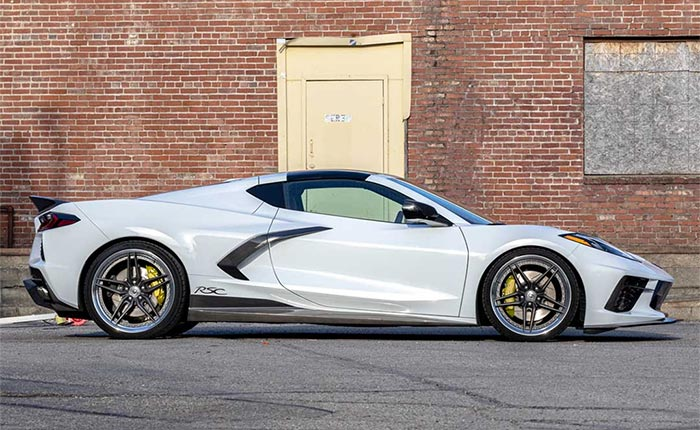 Racing Sport Concepts New 'Wingless' Side Skirts Brings Fresh Look to the C8 Corvette