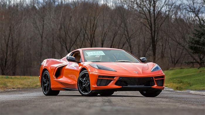 Last 2020 Corvette Stingray Returning to the Mecum Auction Block