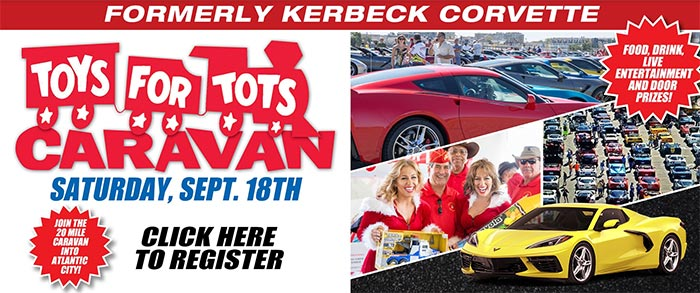 Save The Date for Ciocca Corvette's Toys for Tots Caravan