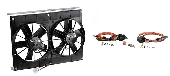 SPAL Electric Fan Upgrades