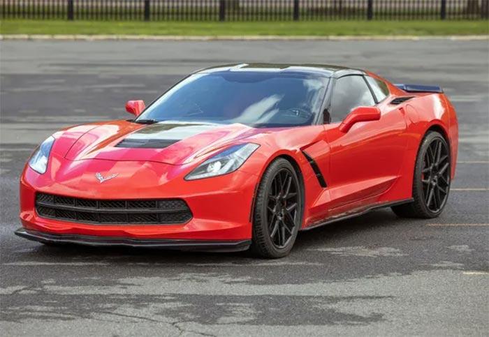 Corvette Values: State of New York Auctions Stolen Red C7 Corvette