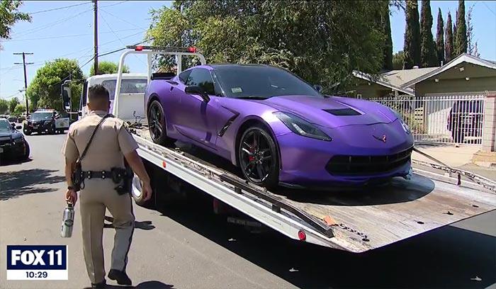 [STOLEN] OnStar Ends Police Pursuit of a Stolen C7 Corvette