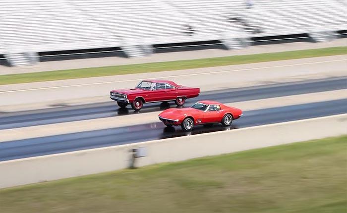 [VIDEO] Old School Grudge Match Features 1969 Corvette L88 vs 1967 Dodge Coronet R/T