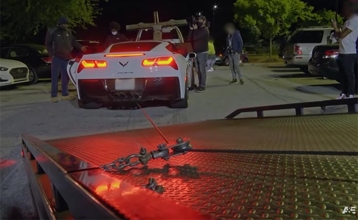 [VIDEO] C7 Corvette Owner Has Standoff With Towing Company on a Reality TV Show