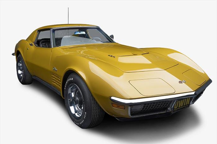 Win a Rare 1971 Corvette LS6 in the 2021 Classic Corvette Dream Giveaway