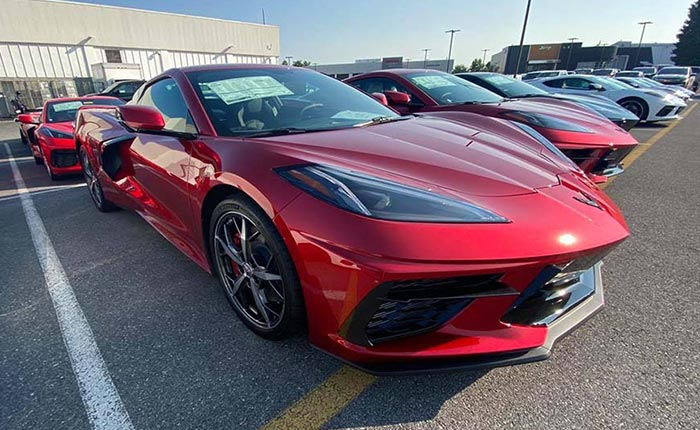 Corvette Delivery Dispatch with National Corvette Seller Mike Furman for August 1st