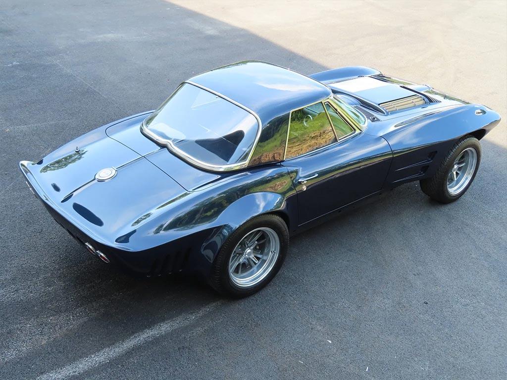 Corvettes for Sale: '63 Corvette Grand Sport Replica Roller on BaT