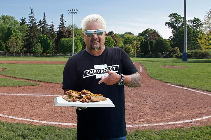 [VIDEO] Guy Fieri and Chevrolet Offer Up A Recipe for the Ultimate Baseball Snack Based On A Famous Chevy Tagline