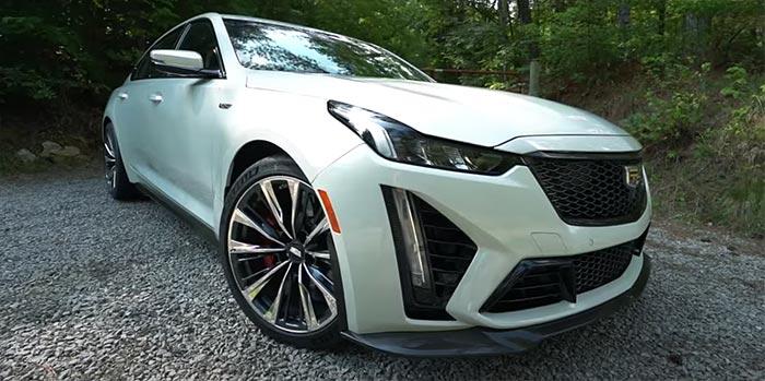 [VIDEO] Emelia Hartford Tests the New 2022 Cadillac CT5-V Blackwing
