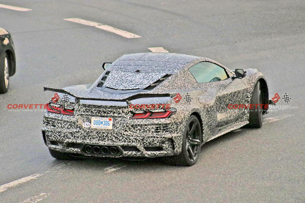 [SPIED] 2023 Corvette Z06 Prototype is Nearly Undisguised at the Nurburgring
