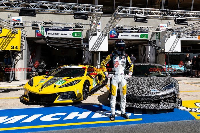 [SPIED] The 2023 Corvette Z06 Makes a Surprise Appearance at Le Mans