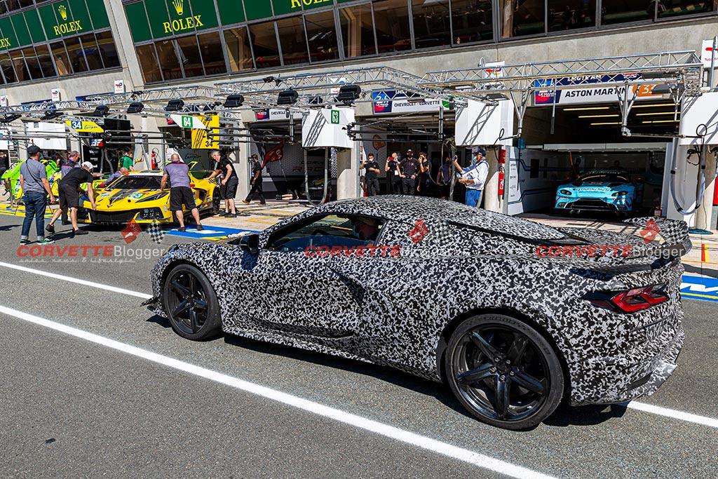 2023 Corvette Z06 at the 24 Hours of Le Mans
