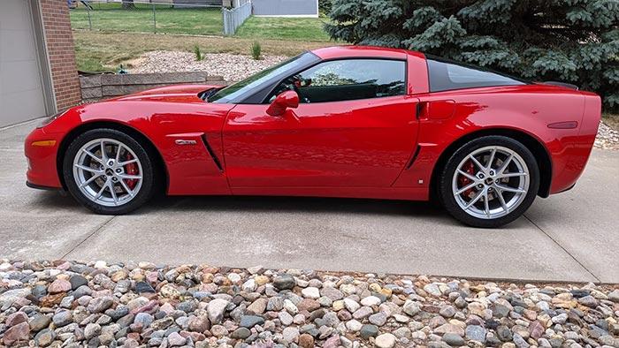 Corvettes for Sale: A 100-Mile 2006 Corvette Z06 is on Bring A Trailer