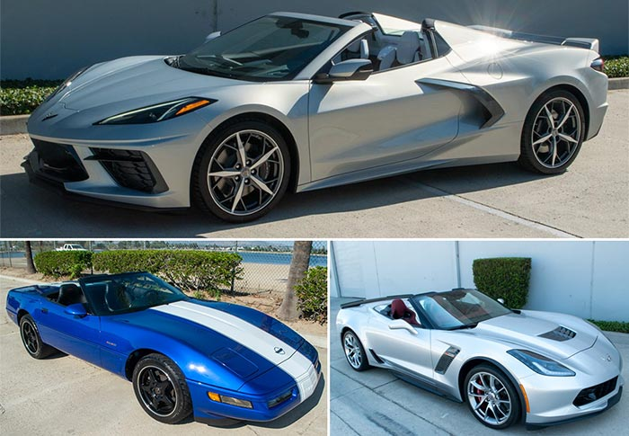 Don't Miss Out On These Three Highly Collectible Corvettes Offered for Sale by Corvette Mike