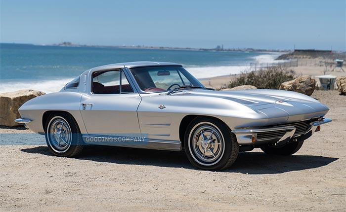 Rush Drummer Neil Peart's 1963 Corvette Split Window Sells for $368,000 at Pebble Beach Auction