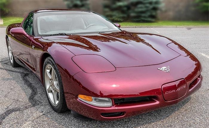 Corvettes for Sale: Low-Mileage 2003 50th Anniversary Corvette at Bring A Trailer
