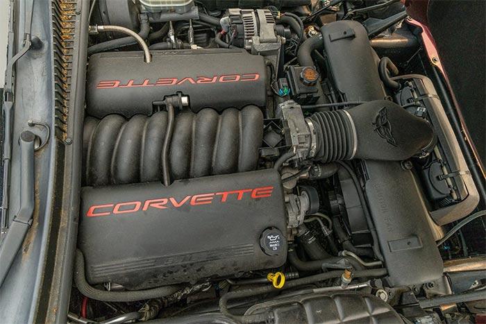 Corvettes for Sale: 2003 50th Anniversary Corvette at Bring A Trailer