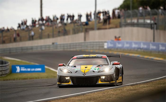 Corvette Racing at Le Mans: Tandy, No. 64 C8.R Third in Hyperpole