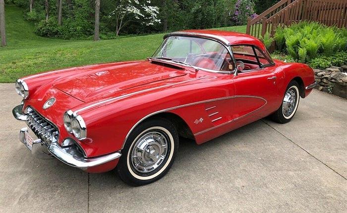 Corvettes for Sale: 1959 Corvette with 33K Original Miles