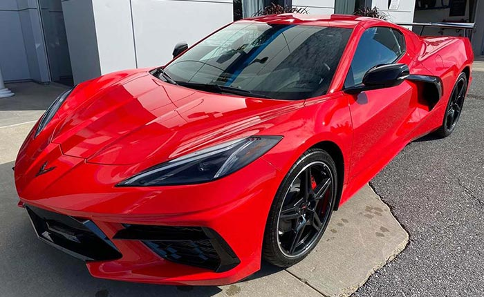 Corvette Delivery Dispatch with National Corvette Seller Mike Furman for August 22nd