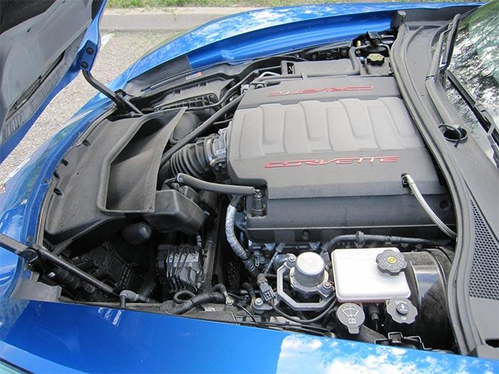 Corvettes for Sale: 3,400-Mile 2014 Corvette Stingray Premiere Edition VIN 005