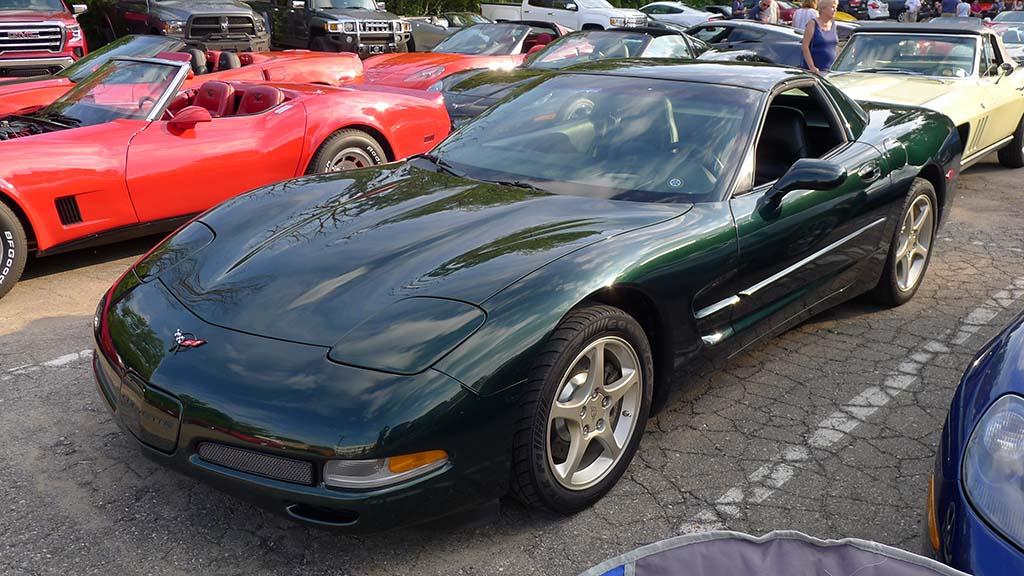 2021 Corvettes on Woodward