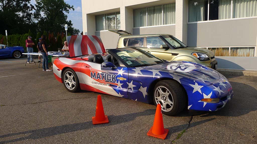 [PICS] The 2021 Corvettes on Woodward Charity Food Drive