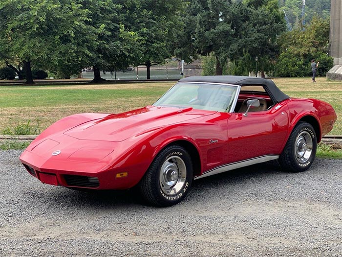 Corvettes For Sale: Big Block 1974 Corvette Convertible
