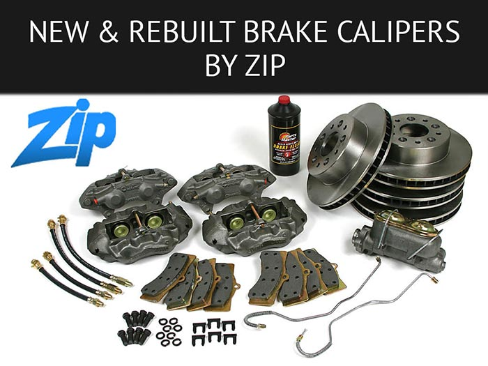 Upgrade Your Corvette's Stopping Power with New and Rebuilt Brake Calipers by Zip