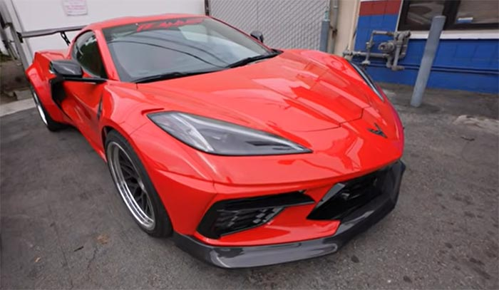 [VIDEO] T.J. Hunt's Streethunter Widebody Kit for the C8 Corvette is Complete