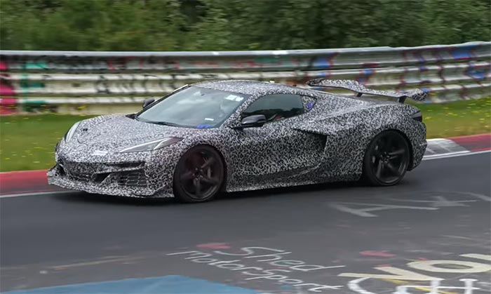 [VIDEO] Another Auto Addiction Video of the 2023 Corvette Z06s at the Nurburgring
