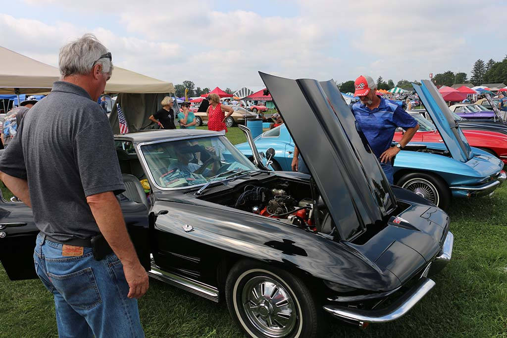 Midyear Monday - 2021 Corvettes at Carlisle Edition