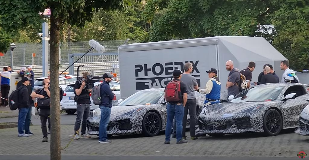 2023 Corvette Z06s at the Nurburgring