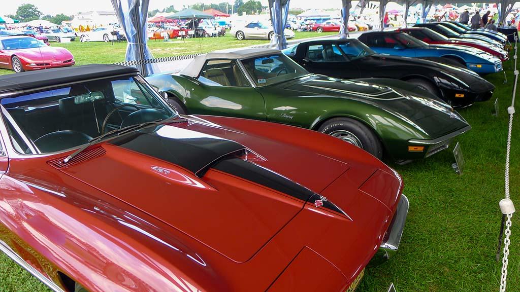 The NCRS Gallery XX at Corvettes at Carlisle