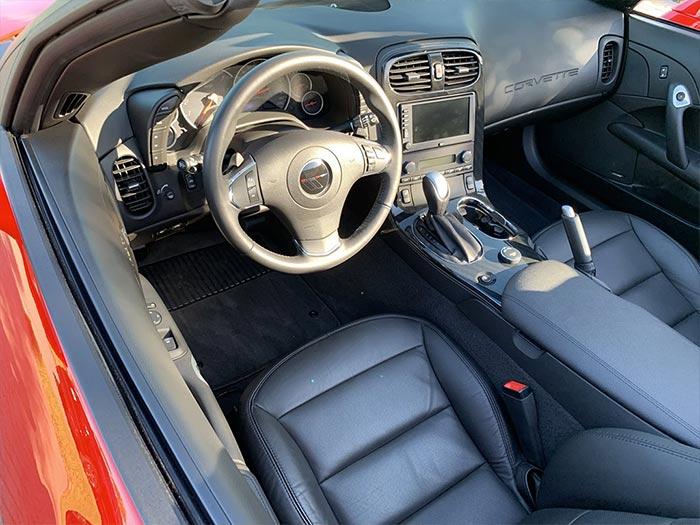 Corvettes for Sale: 2,200-Mile 2013 Corvette Grand Sport Convertible on BaT