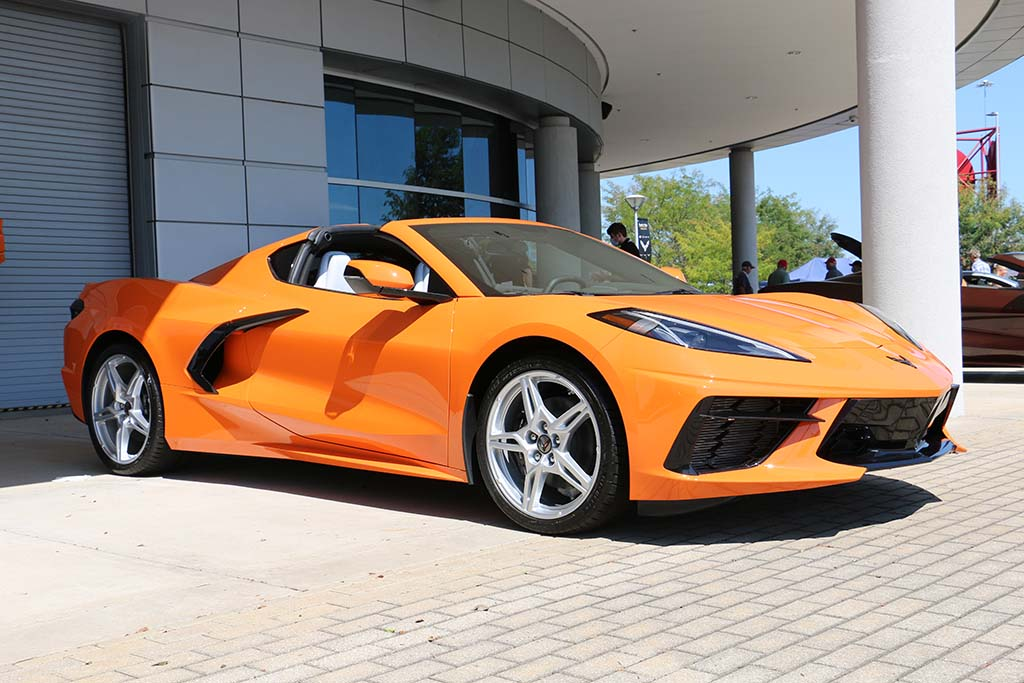 [PICS] New 2022 Corvette Exterior Colors Shown in the Sun