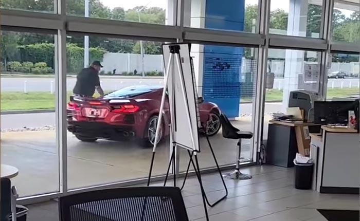 [STOLEN] C8 Corvette Drives Away from Dealership in Brazen Theft Attempt