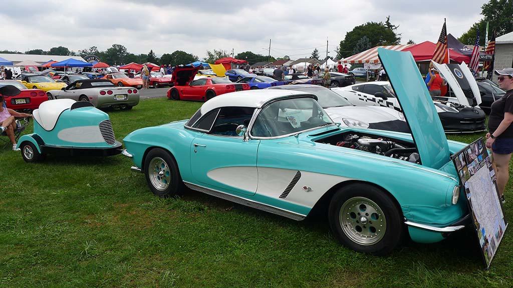 The C1 Corvettes of Corvettes at Carlisle 2021