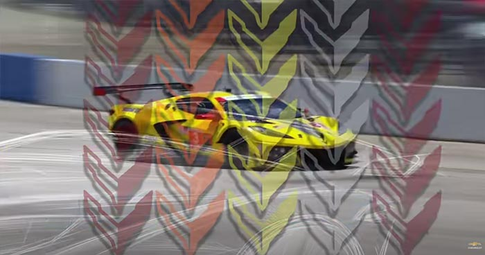 Did Chevrolet Tease the Reveal Colors of the C8 Z06 in the Last Teaser?