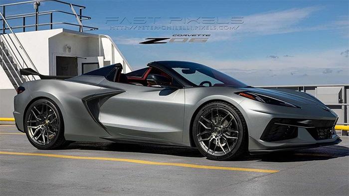 [PIC] 2023 Corvette Z06 Rendering in Hypersonic Gray