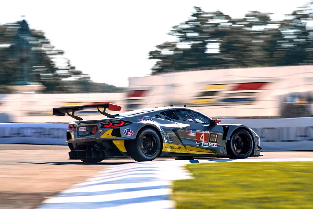 The Corvette C8.Rs Tested GT3-Spec ABS Brakes at the Detroit Grand Prix