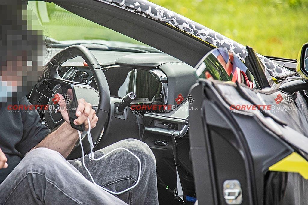 The C8 Corvette E-RayTesting in Michingan