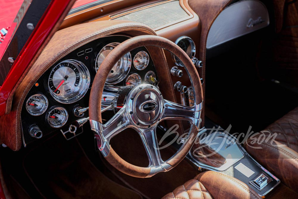 Stunning 1963 Corvette Split Window Restomod From Jeff Hayes Customs Headed to Barrett-Jackson