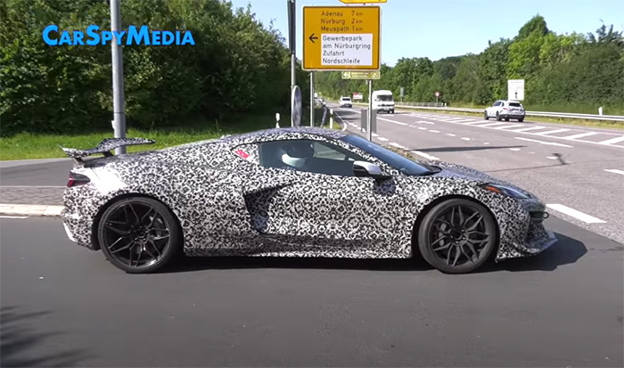 [VIDEO] The C8 Corvette Z06 Is Let Off the Chain at the Nurburgring