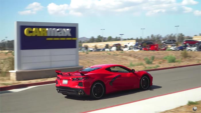[VIDEO] Speed Phenom Sells His 25K-Mile C8 Corvette to CarMax