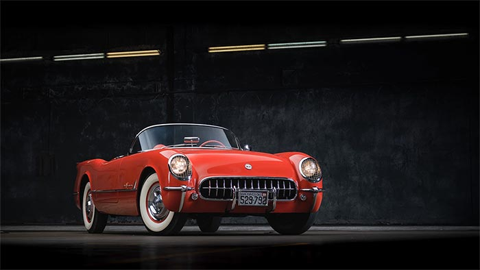 Corvettes for Sale: 1955 Roadster Was Used to Test 3-Speed Manual Transmissions