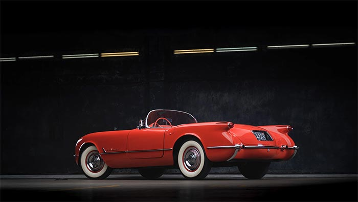Corvettes for Sale: Rare 1955 Roadster Was Used to Test Manual Transmissions