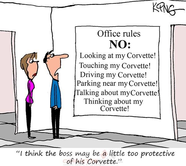 Saturday Morning Corvette Comic: The Bosses New Rules