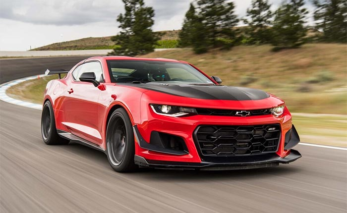 2023 Chevrolet Camaro ZL1 Might Get a Cadillac Blackwing Boost
