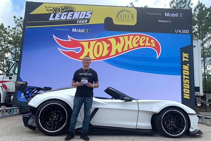 Custom 2007 Corvette Named a Semi-Finalist in the 2021 Hot Wheels Legends Tour